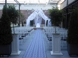 outside weddings outside wedding ceremony at vie in philadelphia vie