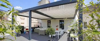 balkon regenschutz lamellen pergola terrassendach terrassenüberdachung biossun