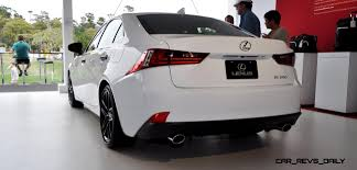 lexus 2014 white 2015 lexus rx350 crafted line pebble beach debut in detail