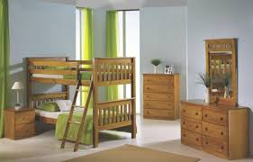 HONEY Finish Mission Style Convertible Solid Wood Bunk Bed - Solid wood bunk bed