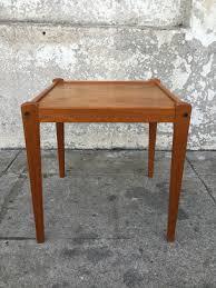 Teak Side Table Danish Teak Side Table Sunbeam Vintage