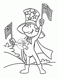 very happy independence day coloring page for kids coloring pages