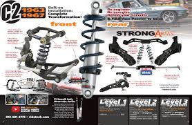 c3 corvette suspension upgrade corvette c2 suspension systems ridetech articles and