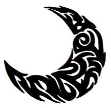 tribal moon 1 by mikadosgirl on deviantart