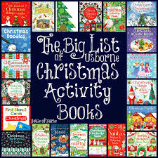 house of burke the big list of usborne christmas activity books