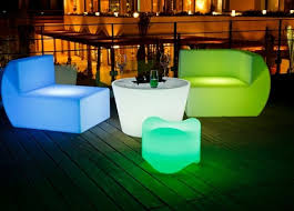 Led Outdoor Furniture - modern led outdoor furniture light up chair seating for ktv bar