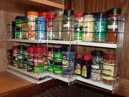 kitchen organizer spice drawer organizer rotating rack jars ikea