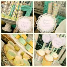 vintage bridal shower vintage baby shower with mint and gray baby shower ideas shops