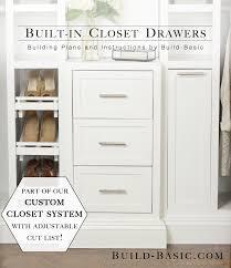 amazing diy master closet renovation master closet drawers and
