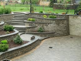 Recon Retaining Wall by Residential Retaining Wall Retaining Wall Construction Frisco