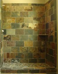 Slate Tile Bathroom Shower Shower Tile Slate With Brick Pattern Design Client Js