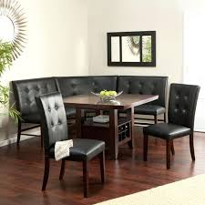 dining room tables with bench seating including big small sets