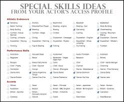 Resume Transferable Skills Examples by Mesmerizing Special Skills On A Resume 11 On Resume Sample With