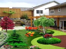 home decor backyard sloped landscape ideas beautiful