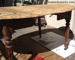 refurbished antique table home to home diy home to home diy