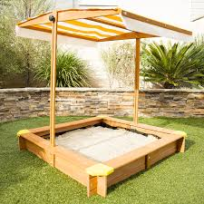 Sandboxes With Canopy And Cover by Amazon Com Outward Play Joey Sandbox With Canopy Toys U0026 Games