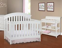 Delta Eclipse 4 In 1 Convertible Crib by Amazon Com Delta Children Bentley Changing Table White Baby