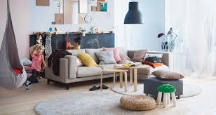 Ikea Family Room Makeover Black Tufted Poff Beautiful Art Carpet - Ikea family room furniture