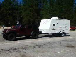 jeep wrangler cargo trailer towing a cargo or travel trailer jkowners com jeep wrangler jk
