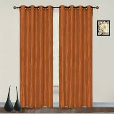 Orange And Brown Curtains Burnt Orange Curtains Wayfair