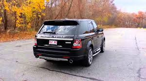 range rover sport amazing sport exhaust sound by quicksilver