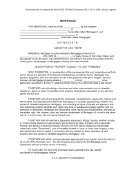 Promissory Note Real Estate Template by Real Estate Mortgage Templates Samples And Templates