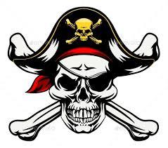 skull and crossbones pirate by krisdog graphicriver