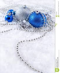 Blue Christmas Decorations Images by Silver And Blue Christmas Decorations Stock Image Image 34322381