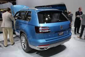 volkswagen suv 3 rows vw confirms all new mid size suv for production in the usa