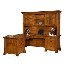 Corner Desks With Hutch Amish Desks Furniture Amish Deskss Amish Furniture Shipshewana