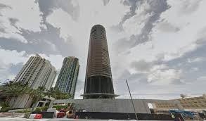 porsche tower miami cylindrical porsche design tower contains personal car garage in