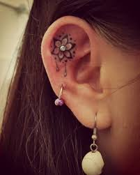 32 best ear tattoo images on pinterest drawings amazing nature