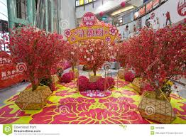 New Year Decorations For Restaurant by Chinese New Year Decoration In Dragon Centre Editorial Stock Photo