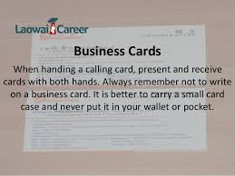 How To Do Business Cards How To Do Business In China