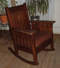 antique mission style rocking chair jpg 1000 1122 living room