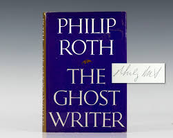ghost writer philip roth first edition signed rare book