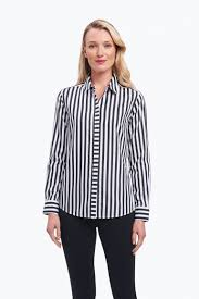 black and white blouses s non iron shirts blouses wrinkle free shirts