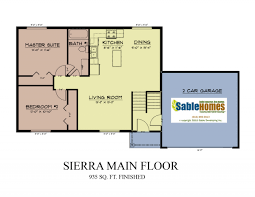 live in garage plans sierra sable homes
