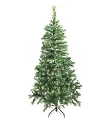 the aisle 6 5 green pine artificial tree with