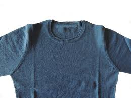 classic sweater in baby alpaca blue popsplaza