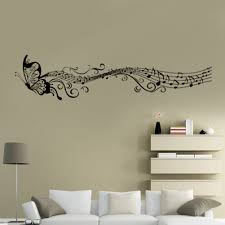 online shop butterfly music note newest wall sticker decal simple online shop butterfly music note newest wall sticker decal simple art wallpaper mural decorative living room home decor aliexpress mobile