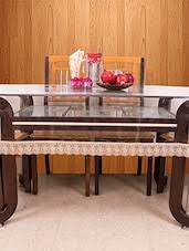 dining table cover clear table cover table cloths laced table cover online in india