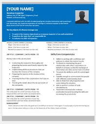 Inspector Resume Sample by Revenue Inspector Resume Templates For Ms Word Resume Templates