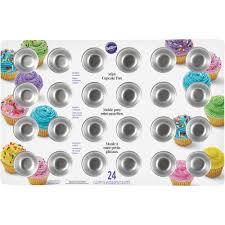 wilton halloween cake pans wilton 24 cavity mini cupcake pan 2105 5120 walmart com