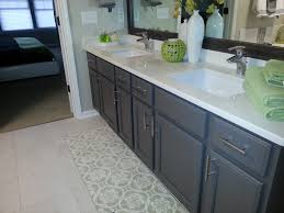 Painted Bathroom Cabinet Ideas Gray Painted Bathroom Cabinets Home Interior