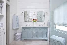light gray tile bathroom floor powder room dual washstand with light gray porcelain tile wood like