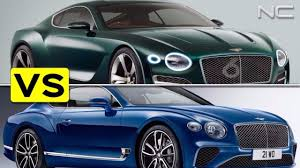 first bentley ever made bentley exp 10 speed 6 concept vs 2018 continental gt youtube