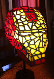 Stained Glass Light Fixtures Iron Man Optimus Prime And More Become Tiffany Glass Lamp