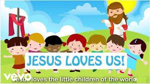 sing hosanna jesus loves the little children with lyrics youtube