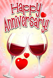 anniversary cards wine anniversary card png